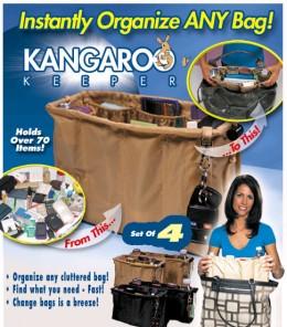 Органайзер для сумки Kangaroo Keeper.