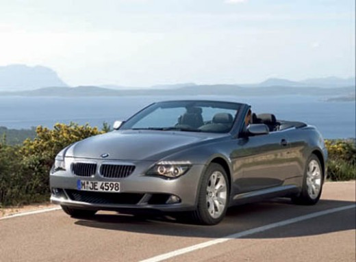 As you can see the BMW 6 series is a beautiful car to look at.