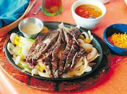 Beef Fajitas at Phil Sandavol's Mexican Restaurante