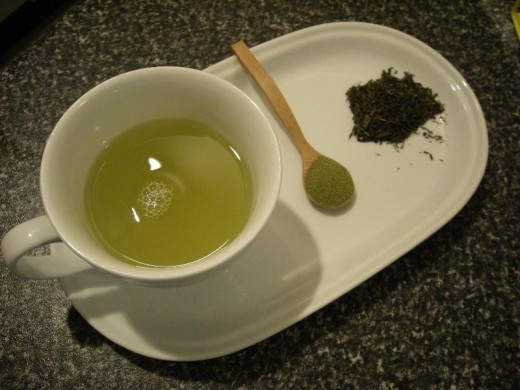 Delicious Green Tea!  Drink up!