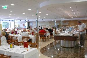dining at the Hotel Venus, Benidorm
