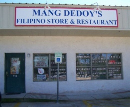 Mang Dedoy's Filipino Store & Restaurant