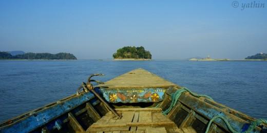 Island in River Brahmaputra
