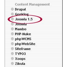 Joomla 1.5 Link