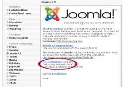 New Installation of Joomla
