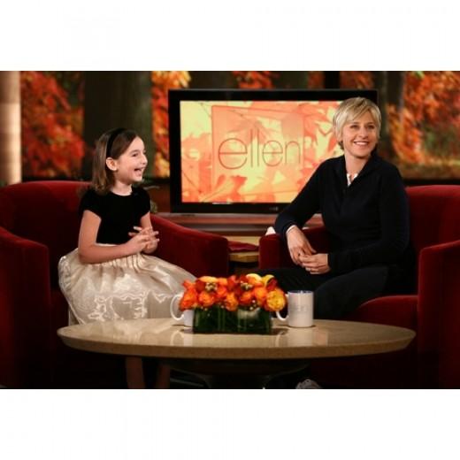Image courtesy of Ellen's site