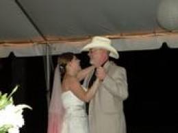 I danced at Savanna's Wedding