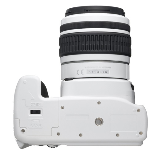 Pentax K-x 12.4 MP Digital SLR - bottom view