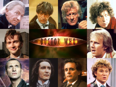 In remembrance of the first 10 Doctors on the television series Doctor Who, for their first-rate performances.