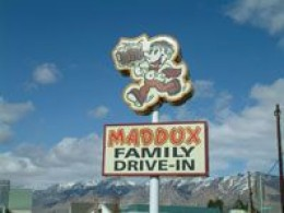 Just honk when you are ready to order at the Maddox Family Drive-In in Perry, Utah.