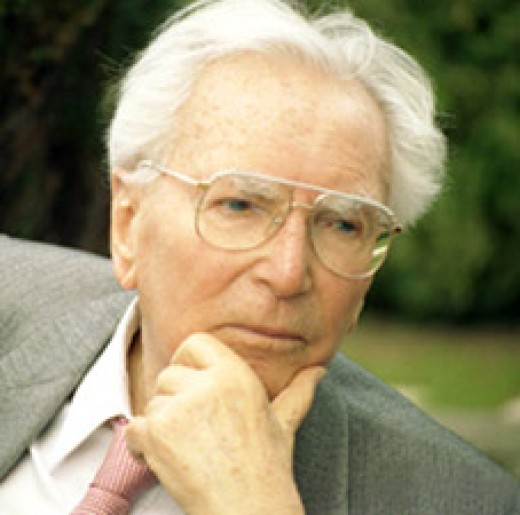 Viktor Frankl Photo by Katharina Vesely 1994