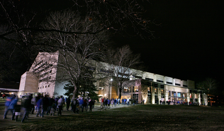 And to Allen Field House, the home of the Jayhawks
