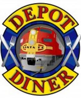 The Depot Diner Logo