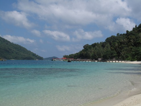 Pulau Perhentian besar / Photo Credit http://www.flickr.com/photos/jockew/4481680960/