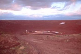 Inside the Roden crater