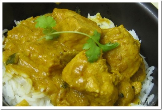 recipes for curry chicken