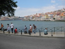 Water-front of River Douro