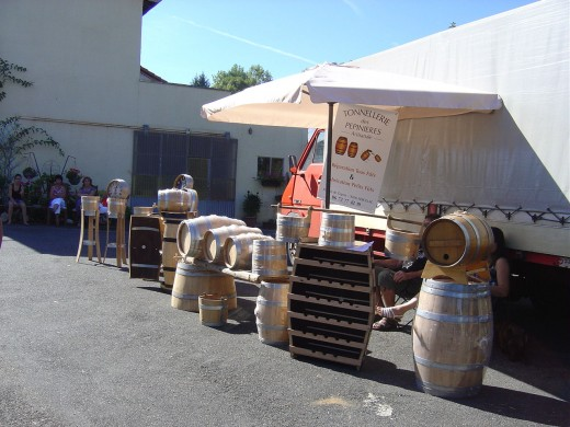 Limousin is not renown for its wine but is famous for its barrels