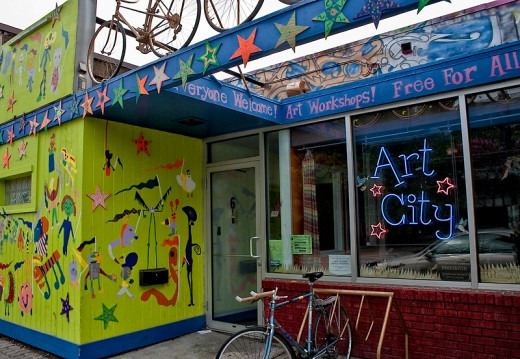 Art City at 616 Broadway - visitors are welcome!