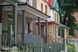 Old neighborhoods surviving and reviving