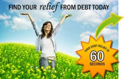 Truly Amazing! They got rid of that woman's debt in 60 seconds (well, not really). Looks like an ad for allergy relief doesn't it?