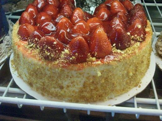 To-Die-For Strawberry Cheesecake Marietta Diner