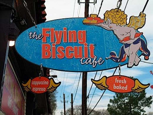 The Flying Biscuit Cafe Atlanta Georgia Historic Candler Park