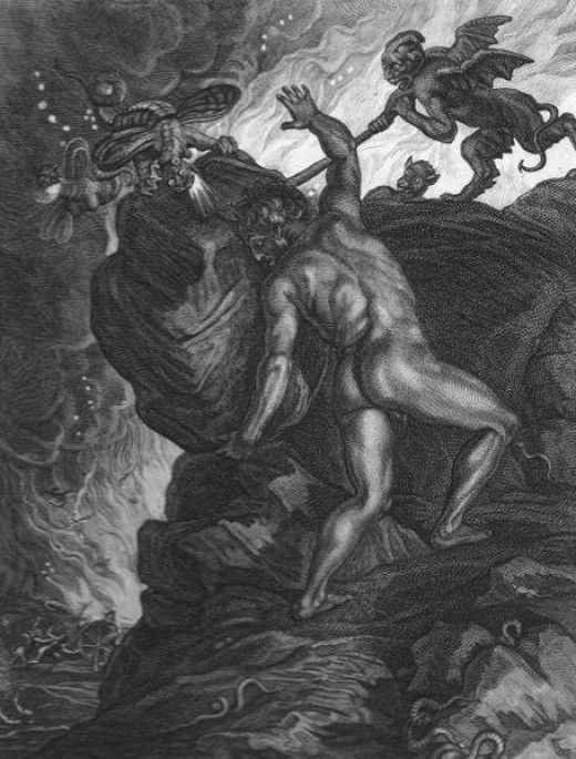 Sisyphus, even cognizant of his fate, pities poor Christoph.