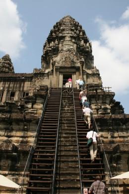Those steep steps