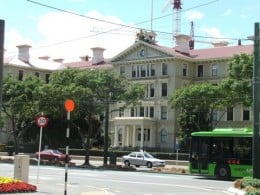 Old Government Buildings - the Southern Hemisphere's largest wooden building