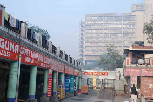 Famous Market near Chanakya Cinema