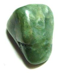 A piece of jade carried to bring heath, weath and good fortune.