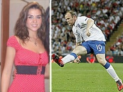 Wayne Rooney and woman he cheated with Jenny Thompson