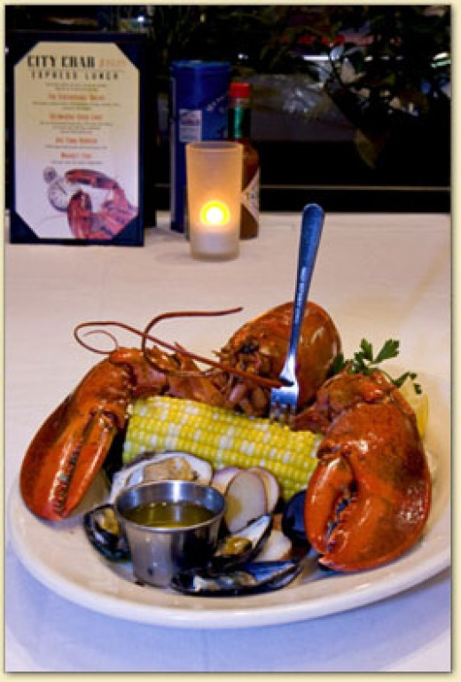Maine Lobster at City Crab New York