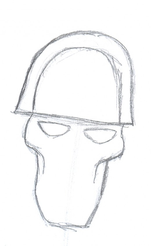 Related Pictures how to draw a skull with a gas mask quick sketch