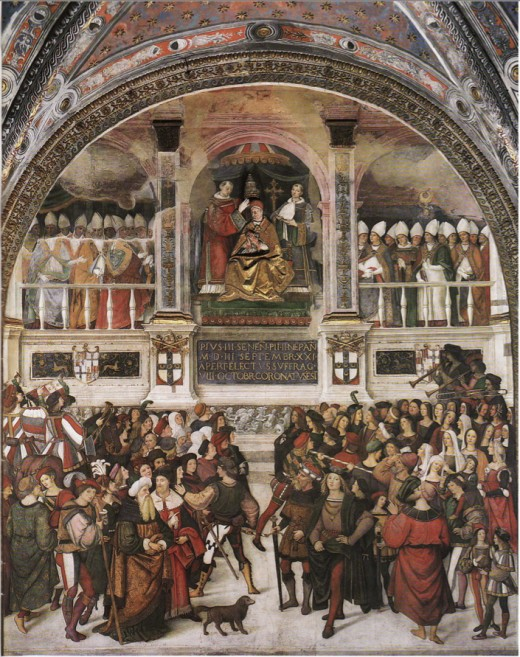Pinturicchio, Coronation of Pius III
