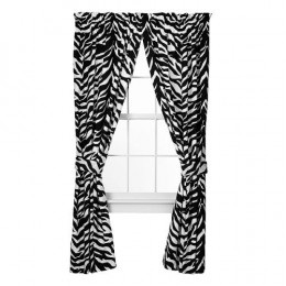 Zebra Print Curtains for the Home