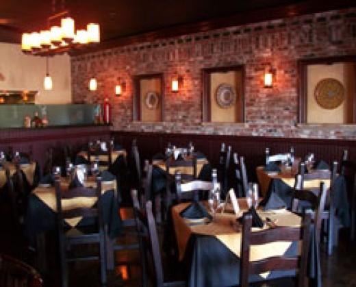 Raviolis an upscale Italian dining adventure.
