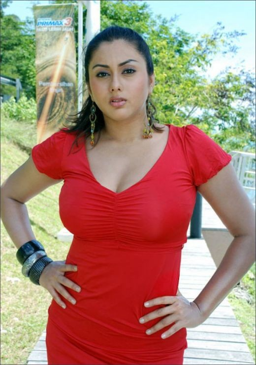 red hot Namitha