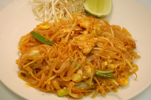 Pad Thai, a local staple!