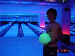 Bowling by Blacklight