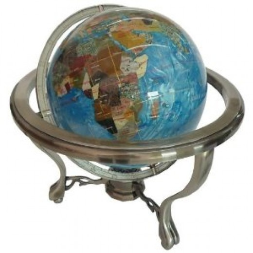 Gemstone Globe by Kassel