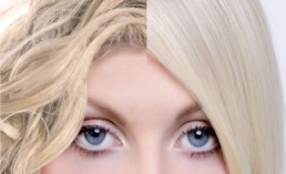 a look at hair before and after having a Keratin hair treatment
