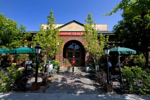 An old school becomes a charming hotel, restaurant and movie theater in Bend, Oregon