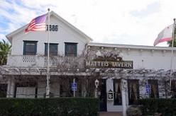 Mattei's Tavern in Solvang area, California