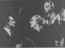 METROPOLIS - 1927, silent picture era, said to be the first Science-Fiction movie made.
