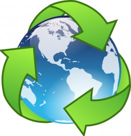 Recycling saves the planet, Please Recycle!