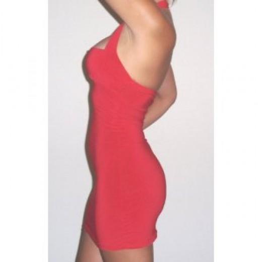 Halter dresses show your curves