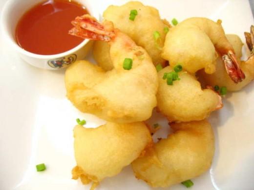 Max's Shrimp Dish