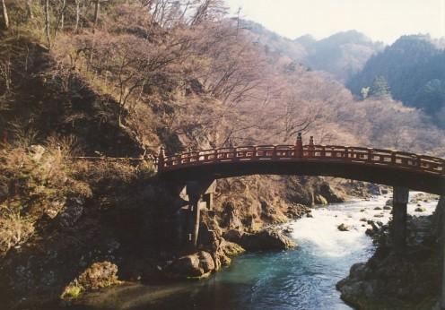 The Shinkyo Bridge.